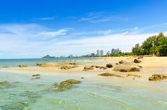Sea ocean beach in summer Stock Images