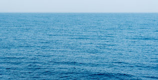 Sea or ocean calm  blue water surface Royalty Free Stock Photography