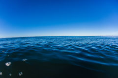 Sea Ocean Horizon Blue Sky Stock Image