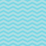 Sea Ocean water with blue zigzag waves. Seamless Pattern Wrapping paper, textile template. Blue background. Flat design. Royalty Free Stock Images