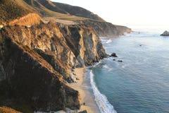 Sea - ocean wave, mountain Royalty Free Stock Image
