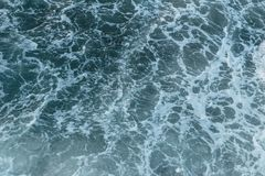 Sea Ocean wave top view texture royalty free stock photo