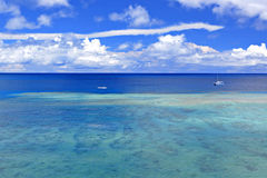 Sea in Okinawa Royalty Free Stock Images