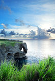 Sea in okinawa japan Royalty Free Stock Photo
