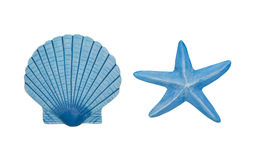 Sea ornaments Royalty Free Stock Images