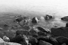 Sea in ostia Stock Image