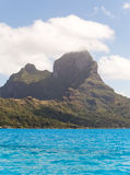 Sea and  Otemanu mountain. Bora-Bora. Polynesia Royalty Free Stock Image