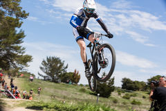 Sea Otter Classic Bike Festival - Enduro - Adam Craig royalty free stock image