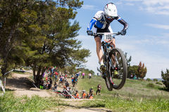 Sea Otter Classic Bike Festival - Enduro - Carl Decker Royalty Free Stock Photography