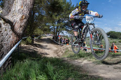 Sea Otter Classic Bike Festival - Enduro Royalty Free Stock Photography