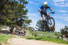 Sea Otter Classic Bike Festival - Short Track - Josh Carlson Royalty Free Stock Photos