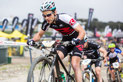 Sea Otter Classic Bike Festival - Short Track - Justine Lindine Royalty Free Stock Image