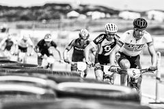 Sea Otter Classic Bike Festival - Short Track - Pro Men Royalty Free Stock Photos