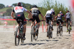 Sea Otter Classic Bike Festival - Short Track Stock Photography
