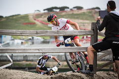 Sea Otter Classic Bike Festival - Short Track - Todd Wells Stock Photography