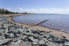Sea outfall Royalty Free Stock Photography