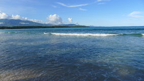 Sea. Pacific ocean in the Philippines stock photo