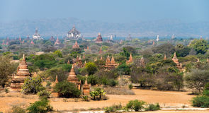 Sea of Pagodas and Temples in Bagan Royalty Free Stock Images