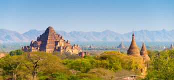 Sea of Pagodas and Temples in Bagan Royalty Free Stock Photography