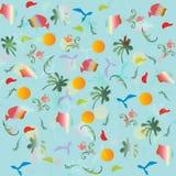 Sea, palm , holiday, pattern, sun. Sea palm holiday pattern sun Royalty Free Stock Photography
