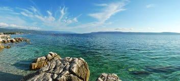 Sea panorama stock images