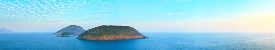 Sea panorama Royalty Free Stock Image