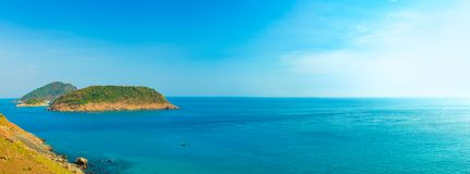Sea panorama Stock Photography