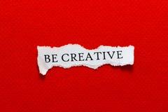 Sea papel creativo Fotografía de archivo libre de regalías