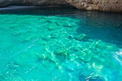 Sea in Paros stock photo