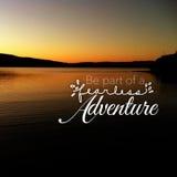 Sea parte de la aventura audaz Imagen de archivo