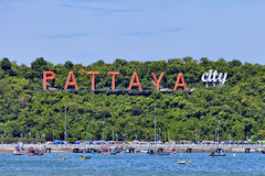 SEA PATTAYA THAILAND Stock Photography