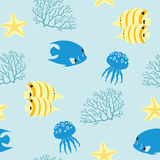 Sea pattern Royalty Free Stock Photos