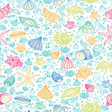Sea pattern Stock Photography