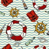 Sea_pattern 免版税库存照片