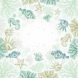 Sea pattern Stock Images