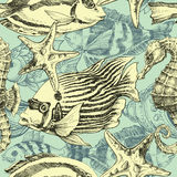 Sea pattern Royalty Free Stock Photography