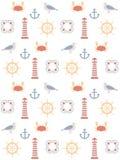 Sea pattern Royalty Free Stock Image
