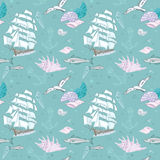 Sea pattern for summer Stock Image