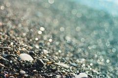 Sea pebble Stock Image