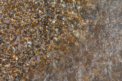 Sea pebble under water Royalty Free Stock Photo