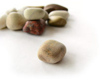 Sea pebbles Stock Images
