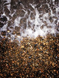Sea and pebbles Royalty Free Stock Photos