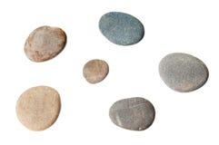 Sea pebbles collection Stock Photos