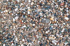 Sea pebbles Stock Photography