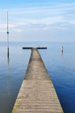 Sea pier Stock Photo