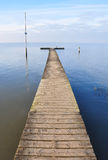 Sea pier Royalty Free Stock Photography