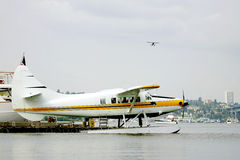 Sea plane Stock Photo
