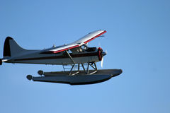 Sea plane in the air Royalty Free Stock Photography