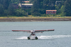 Sea plane, Inside Passage, Skagway, Alaska Royalty Free Stock Photos