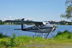 Sea plane at Lake Hood in Alaska Royalty Free Stock Image